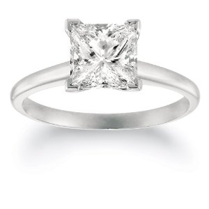 2 carat diamond princess cut