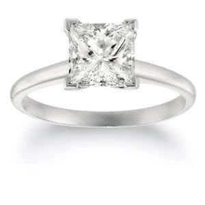 2 carat diamond princess cut