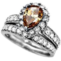 ring diamond levian gold strawberry and rhodium p m chocolate black rings