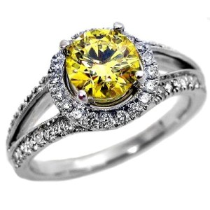 fancy yellow canary diamond