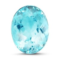 paraiba tourmaline oval cut