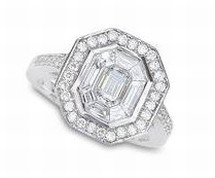 Art Deco Engagement Rings Diamonds