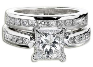 VVS Diamonds Ring Set